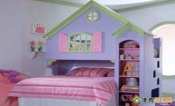 别墅儿童房---淮南装饰网