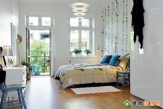 添加传统元素装饰之现代小户型公寓卧室篇