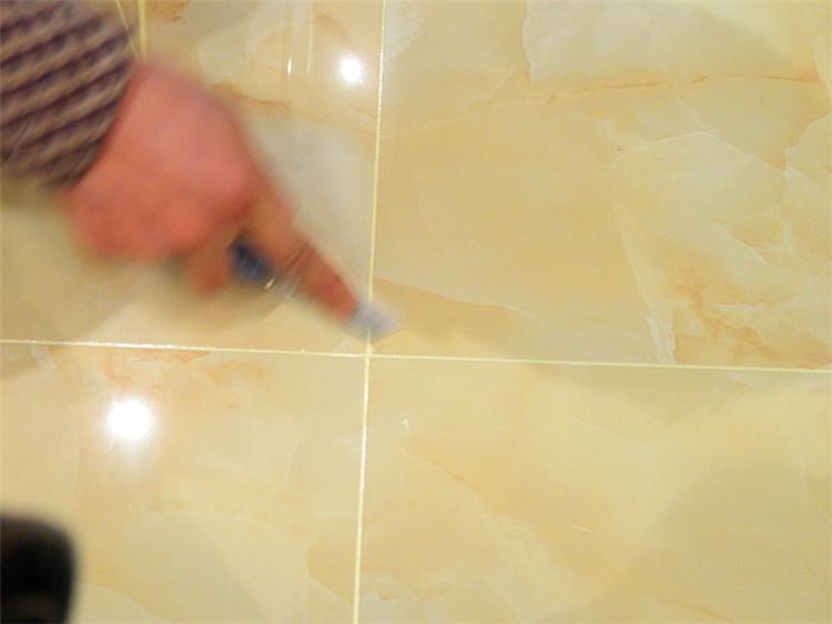 米色地砖美缝效果图