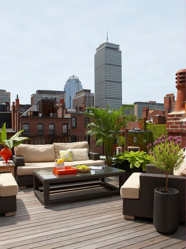 楼顶庭院设计图片欣赏
